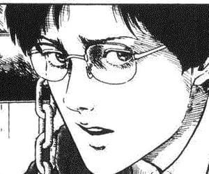anime, boy, and junji ito image