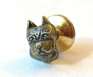 etsy, gift for groom, and vintage dog jewelry image