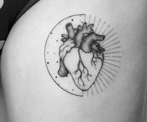 heart, inked, and selflove image
