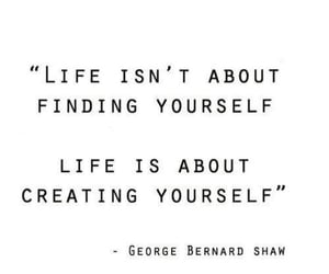 create, quote, and yourself image