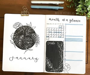 bullet journal, bujo inspiration, and bujo ideas image