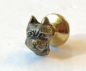 etsy, vintage dog jewelry, and gift for groomsmen image