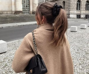 fashion, bag, and hair image