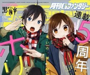 horimiya, anime, and hóri image