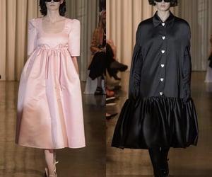 babydoll dress, pink dress, and twiggy dress image