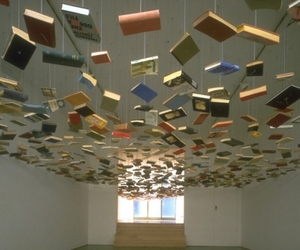 book, art, and ceiling image