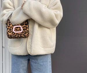 cheetah print, fashionista fashionable, and blue denim jeans image