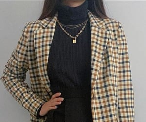 coat, fall, and girly image