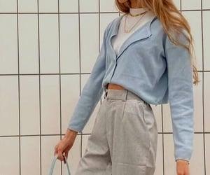 fashion, chaqueta, and Chica image