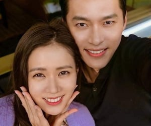 couple, crash landing on you, and hyun bin image
