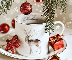 coffee, merry christmas, and coffee time image