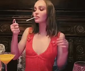 gif and lily-rose depp image