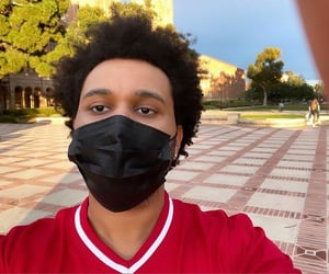 abel, mask, and the weeknd image