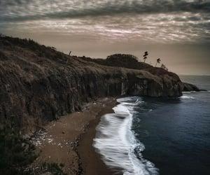 beach, japan, and ocean image
