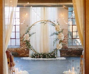 attractive, light, and wedding reception image