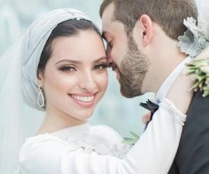 hijab, halal, and muslim love image