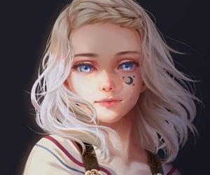 art, characters, and girl image