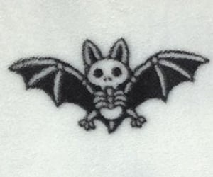 bat, emo, and goth image