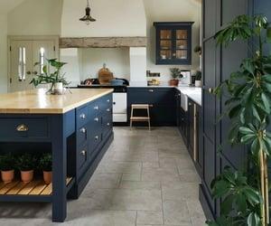 architecture, dream home, and kitchen image