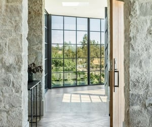 architecture, dream home, and hallway image