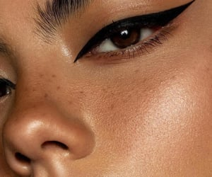 girl, eyeliner, and eyes image