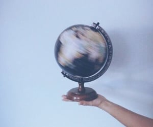 earth, globe, and spin image