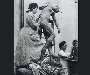 artists, paris, and sculptor image