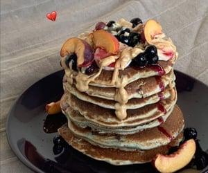 fruit and pancakes image
