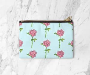 acessories, beautiful, and zipper pouch image