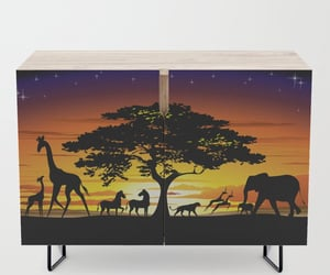 furniture, home, and credenza image