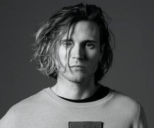 black&white, dougie poynter, and handsome image