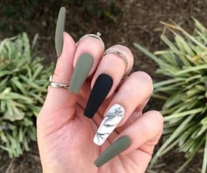 nails, girl, and pretty image