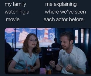 meme, movies, and la la land image