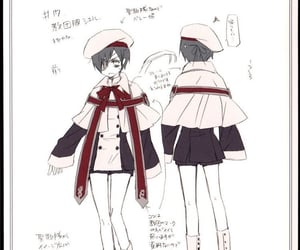 character design, ciel phantomhive, and ciel image