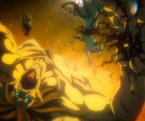 anime, shingeki no kyojin, and eren jaeger image