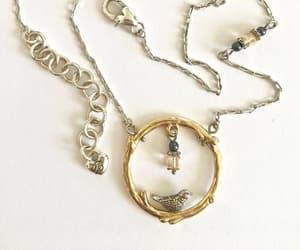 etsy, vintage pendant, and brighton necklace image