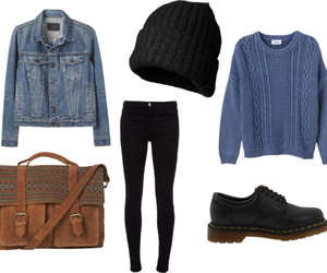 bag, jeans, and clothes image