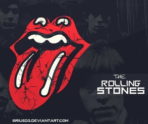 rock and roll, rolling stones, and classic rock image