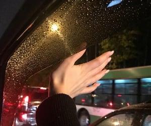 rain, night, and alternative image