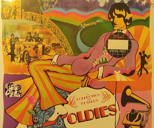 oldies, a collection of beatles, and best of beatles lp image