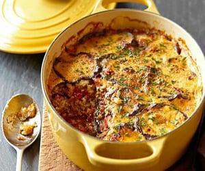 eggplant, greek, and food image