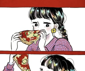 illustration, 女の子, and かわいい image