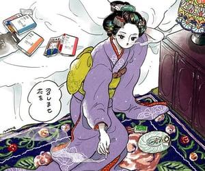 illustration, 日本, and イラスト image