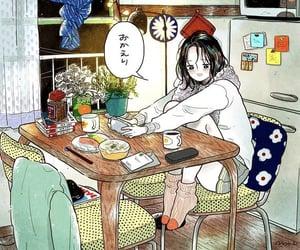 illustration, 家, and イラスト image