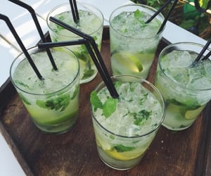 citrus, drink, and lemon image