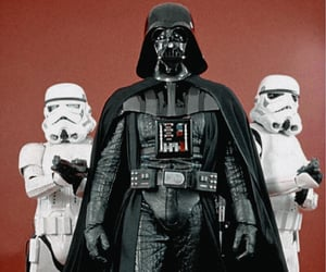 darth vader, stormtroopers, and star wars image