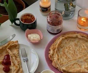 berries, breakfast, and candles image