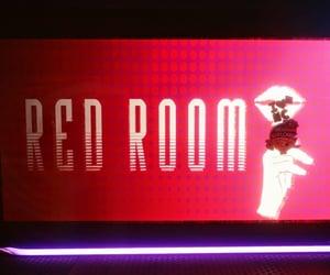 club, hush, and red image
