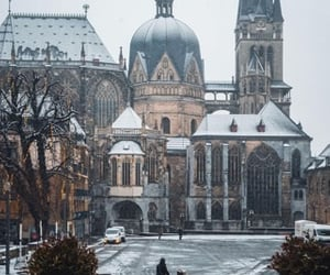 aachen, architecture, and cathedral image
