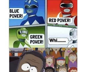 funny, South park, and power rangers image